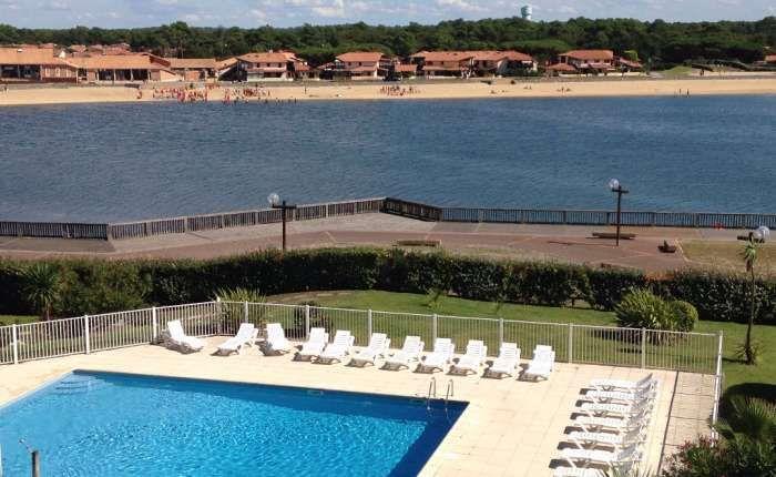 Trés bel Appartement 3 pièces à vendre - Vue lac et à 300 mètres des plages océanes