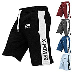 XXR x-Power Mens Fleece Shorts Jogging Bottom Joggers MMA Boxing Gym Fitness Sweat Shorts Casual Home Wear: Amazon.co.uk: Sports & Outdoors