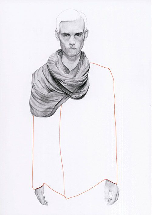 Fashion illustrations by Richard Kilroy