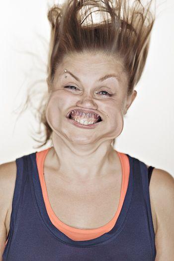 Blow Job by Tadao Cern: Blowjob, Faces, Tadao Cern, Funny Stuff, Funnies, Leaf Blower, Photography