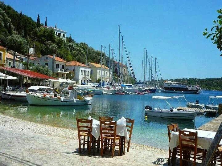 Ithaki island, Ionian sea