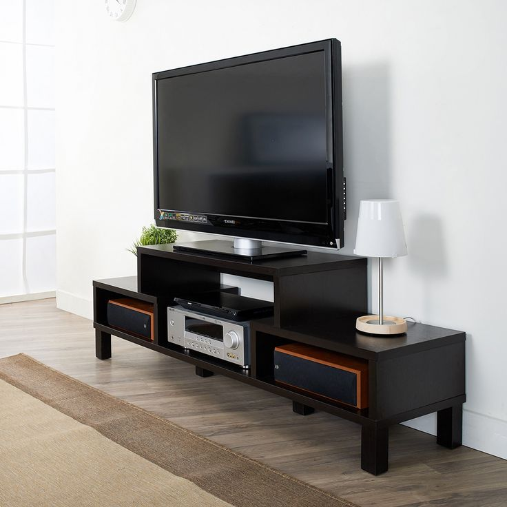 Showcase your media center with this stylish
