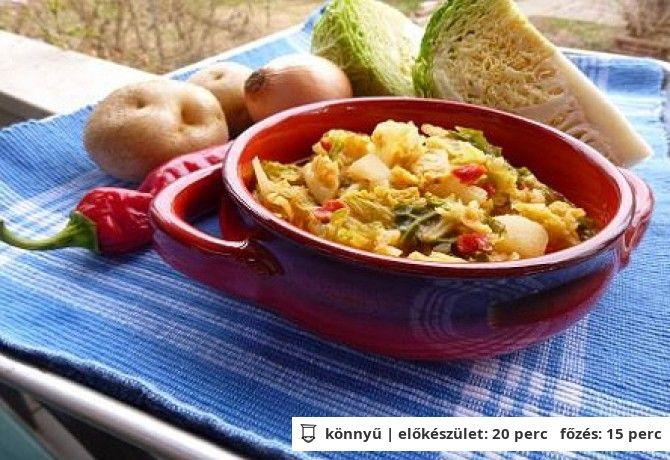 Kelkáposzta-főzelék witch konyhájából