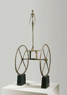 Giacometti Le chariot 1950