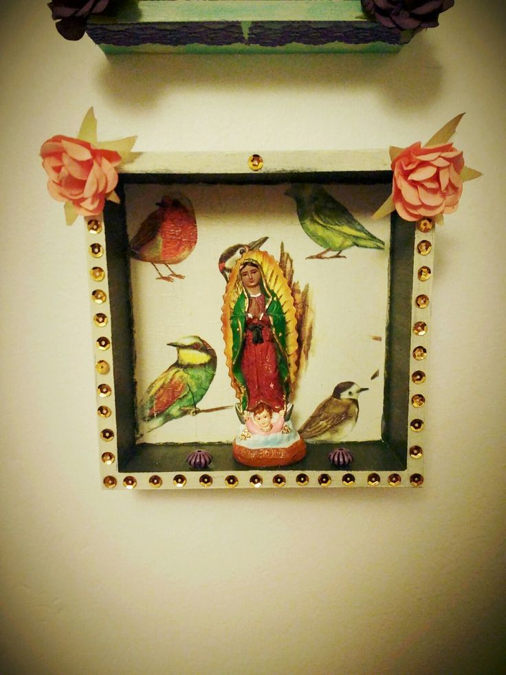 Altar decorativo #virgen #lupita