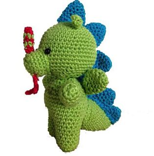 Crochet Green Dragon by Mrs Klerx Designs. - Ravelry.  This patterns is available in Dutch and in English.