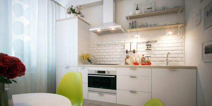 кухонный гарнитур без шкафчиков