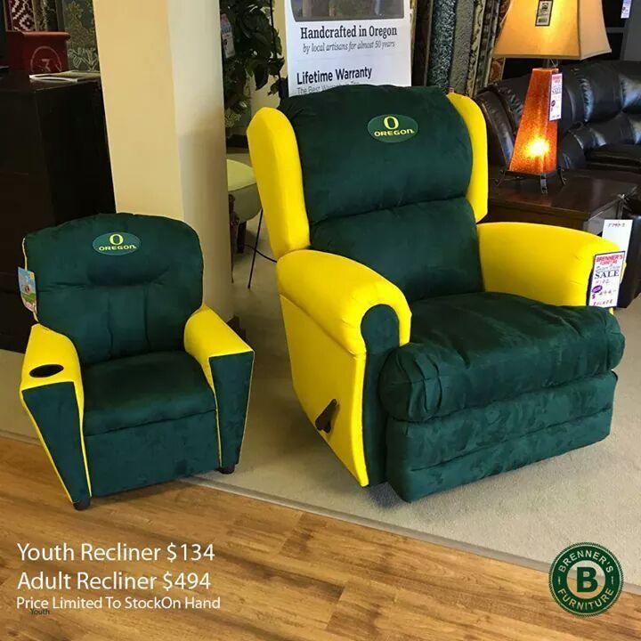 Oregon Ducks Adult and Child recliner chairs. & 864 best Oregon Ducks images on Pinterest | Oregon ducks football ... islam-shia.org