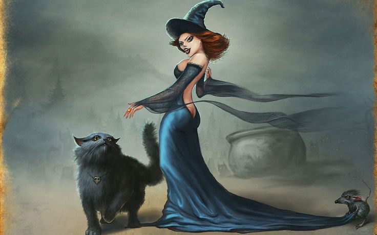 #1409331, witch category - Pictures for Desktop: witch pic