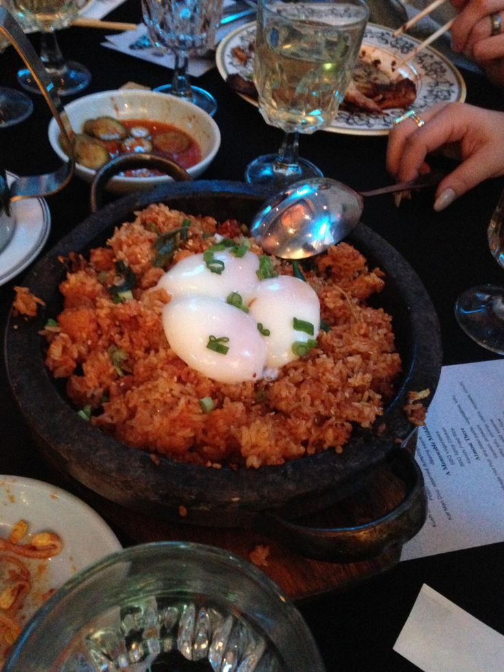 #RoyChoi's famous #KimChee #FriedRice | 1.22.15 A Night At The Line -cocktails, and dinner at #Koreatown's hippest new spot #TheLineHotel with residents of The Vermont.  | ENJOY LIFE AT THE VERMONT:Sweeping city views, amazing amenities, close proximity to #USC, #Koreatown, #Hollywood, #DTLA, #Santa Monica, #Metro #Red/Purple Lines! Call to schedule a tour: 213-204-1361 thevermont.net | #RoyChoi #POT #Commissary #TheVermontLA