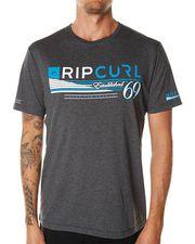 RIP CURL SHOCK TEE - DARK GREY MARLE on http://www.surfstitch.com
