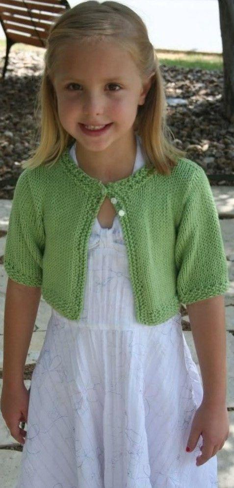 Knitting Patterngirls knit cardigansweater