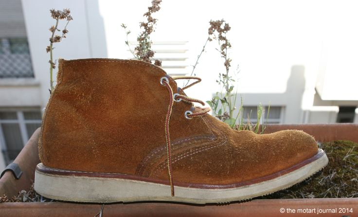 MotArt: My Red Wing Chukka Boots