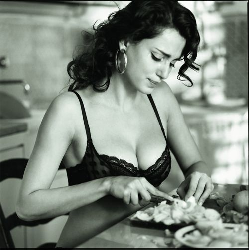 Real beauty is when a girl can eat whatever she wants without judgement, hiding nothing.