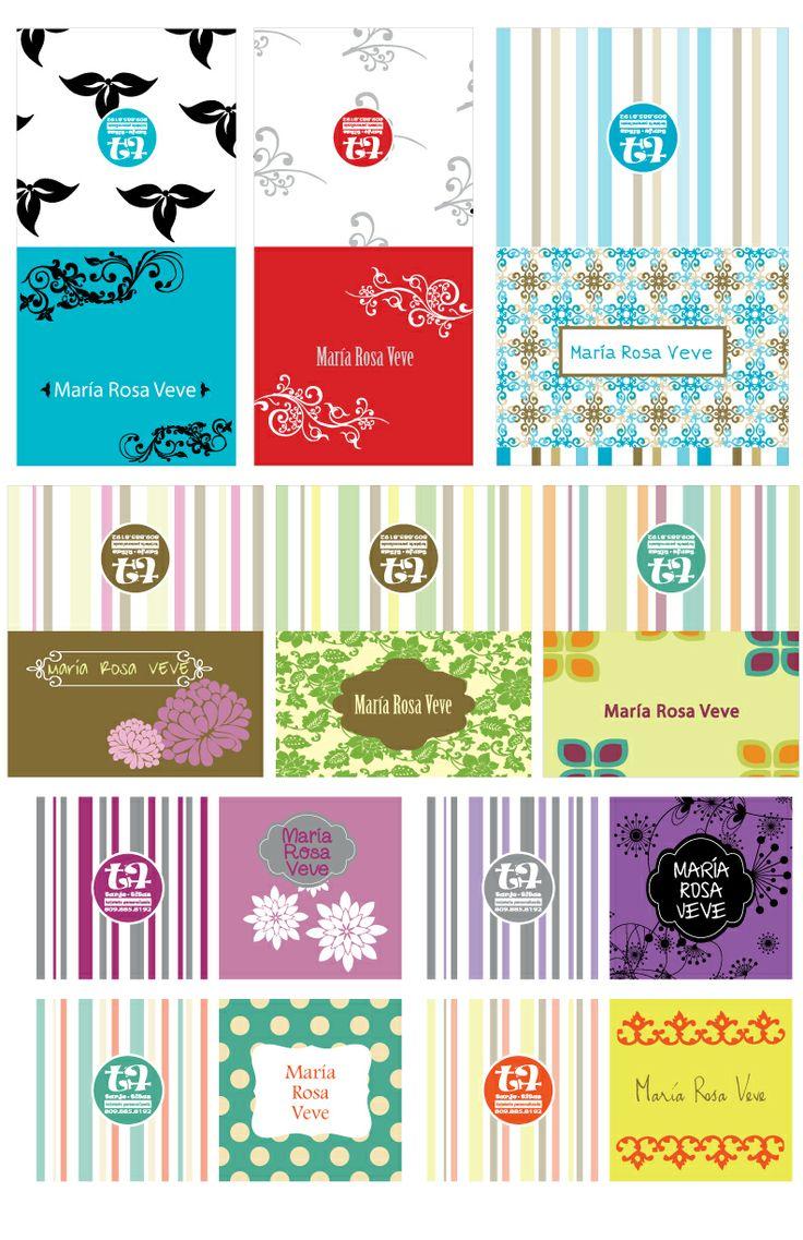 Tarjetas personalizadas para regalos