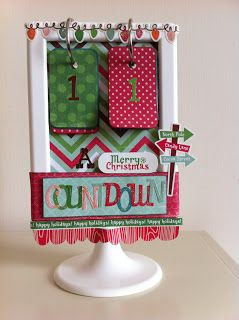 Guest Designer Fiona Lally   hosts today's post on creating a simple, yet beautiful Christmas  countdown project for your family. Read h...