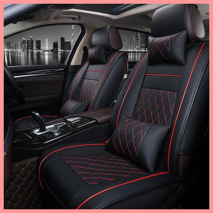 Universal PU Leather car seat covers For Mazda 3 6 CX-5 CX7 323 626 M2 M3 M6 Axela Familia ATENZA auto accessories car styling