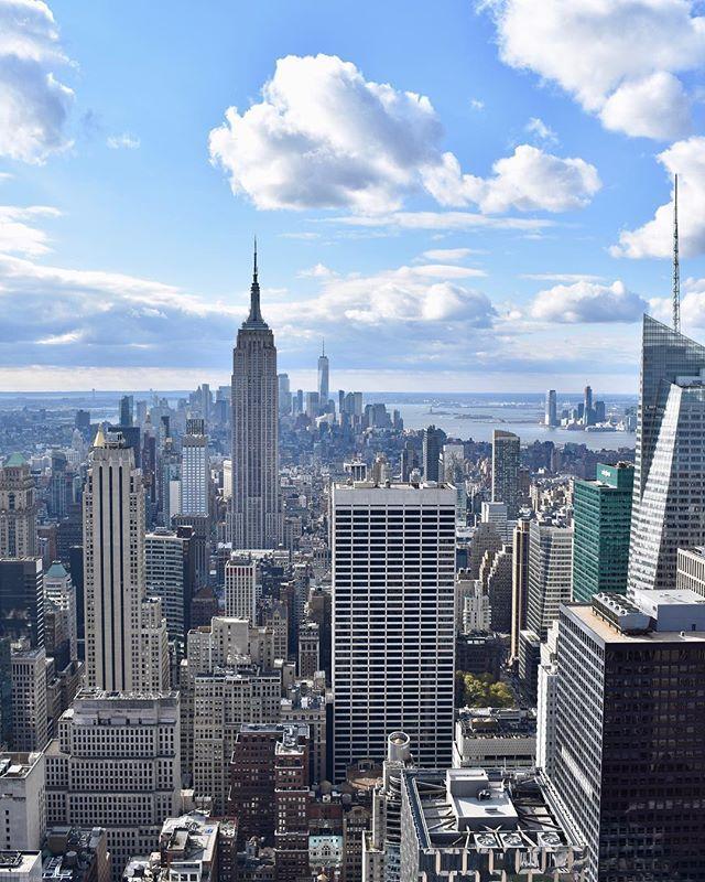 The Empire State Building Rockefeller Rockefellercenter Topoftherock Newyork Nyc Newyor Landscape Architecture Graphics City Photography City Landscape