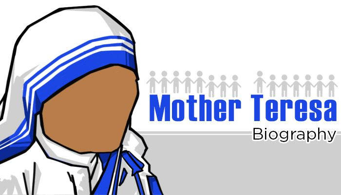 a biography of the life and charity work of mother teresa Mother teresa of calcutta, a roman the convent life and work directly leader of the missionaries of charity although mother teresa had been trying to cut.