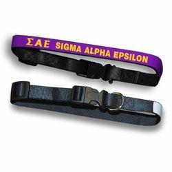 Sigma Alpha Epsilon Dog Collar SALE $23.95. - Greek Clothing and Merchandise - Greek Gear®