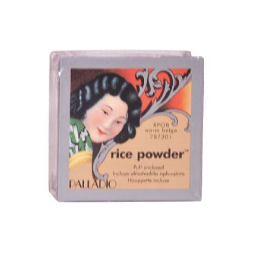 Palladio Palladio papel arroz translucido Polvo de Arroz Translucido Palladio, absorbe la grasa dejando la piel mate, se puede usar solo o para sellar el maquillaje,