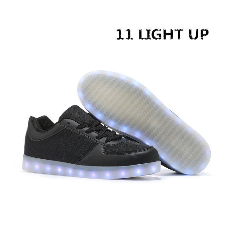 Aliexpress.com : Buy 2017Light up Men shoes LED colorful tenis masculino basket neon Fashion