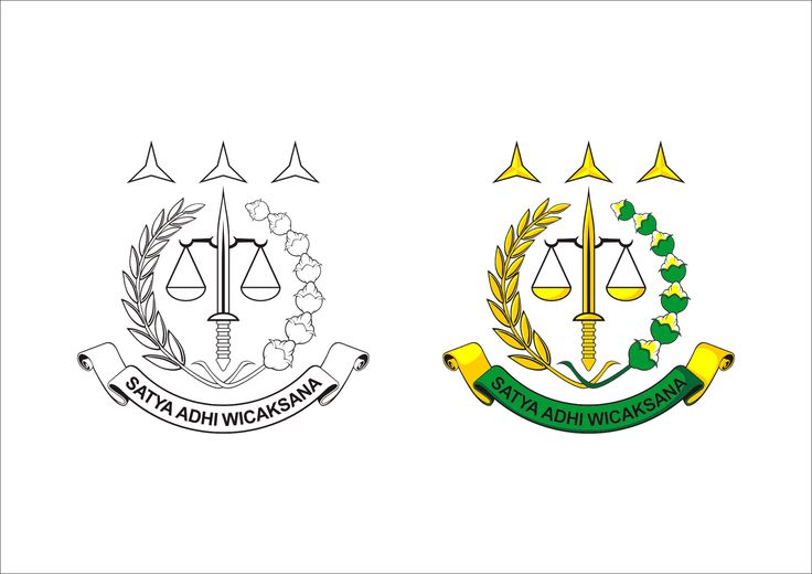 Logo Kejaksaan Agung Republik Indonesia Vector