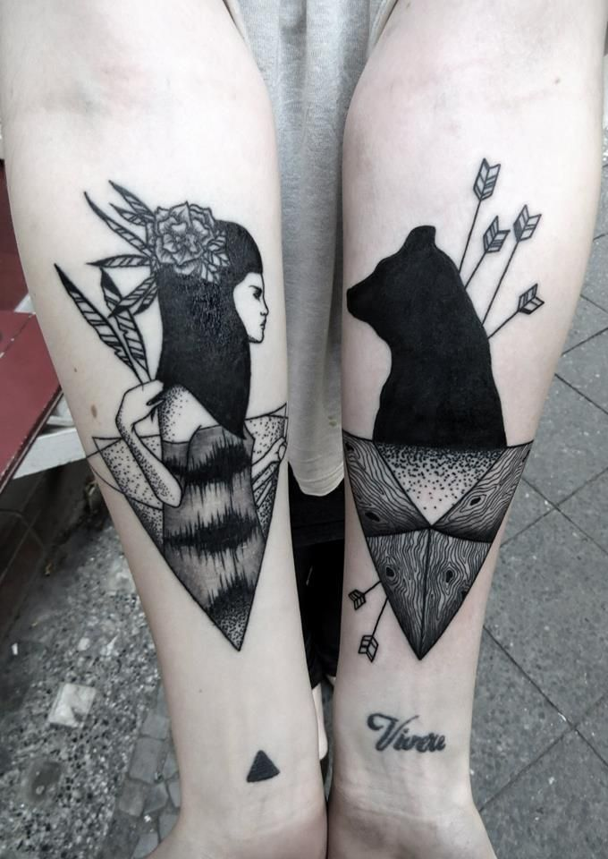 bear old school tattoo - Google Search