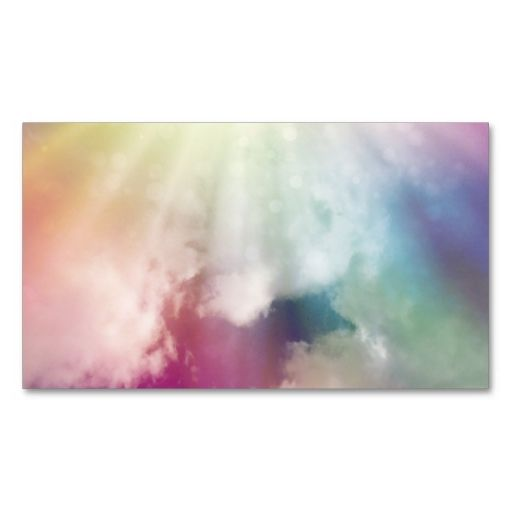 Magical Clouds Business Card Card Templates Business