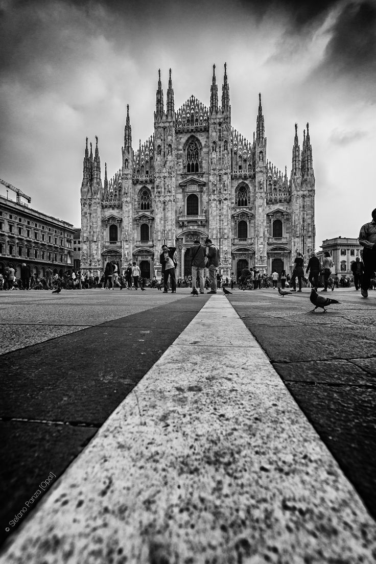 The Cathedral at the end of the Line by Stefano Panza on 500px