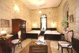 A great place to stay in Jerusalem...a former Arab mansion