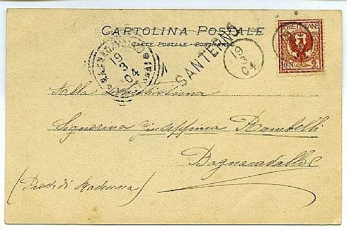 Annulli di Romagna - 11 lett./cart. con ann. a ditale o occasionale del 1903/13 tra cui Argenta, Portomaggiore, Ostellato, Castel Bolognese,…