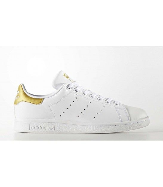 ADIDAS STAN SMITH JR BLANCO/ORO