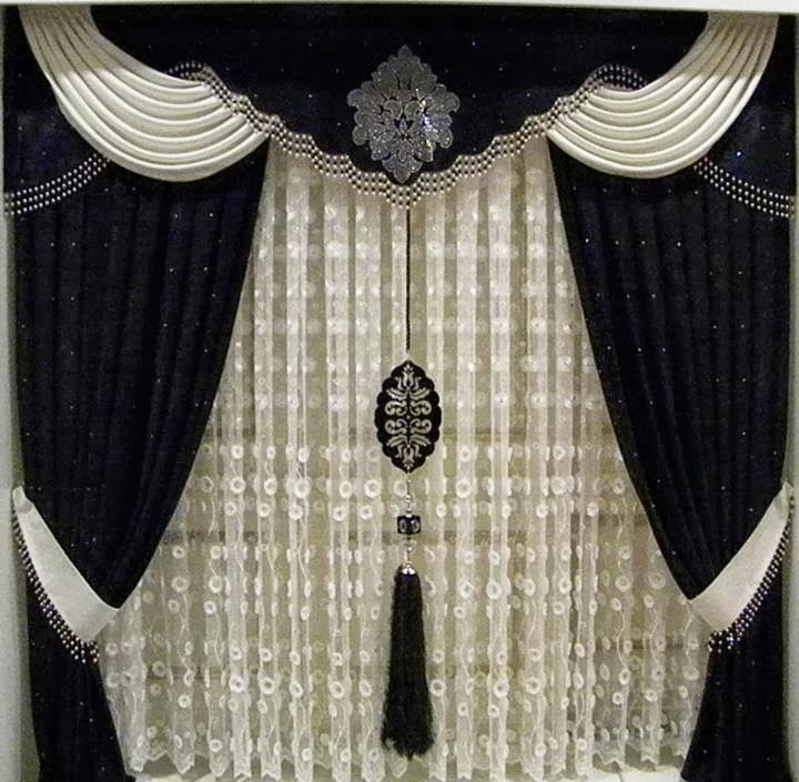 17 best images about living rooms curtains on pinterest curtains living rooms home windows - Latest curtain designs for windows ...