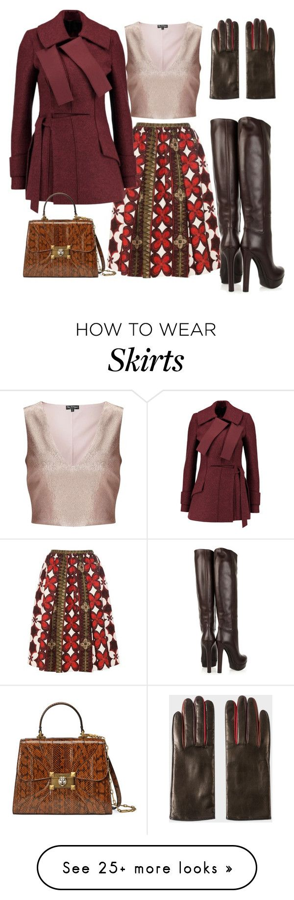 """Winter Wine"" by micha-love on Polyvore featuring Valentino, Miss Selfridge, Proenza Schouler, Gucci and Paul Smith"