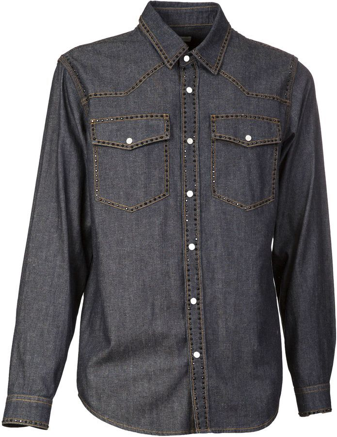Dries Van Noten Studded Shirt