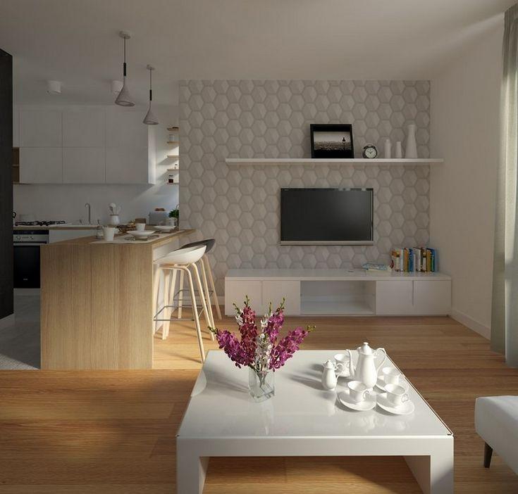 58 best Schmale Küchen images on Pinterest Kitchen ideas - offene kuche vom wohnzimmer trennen