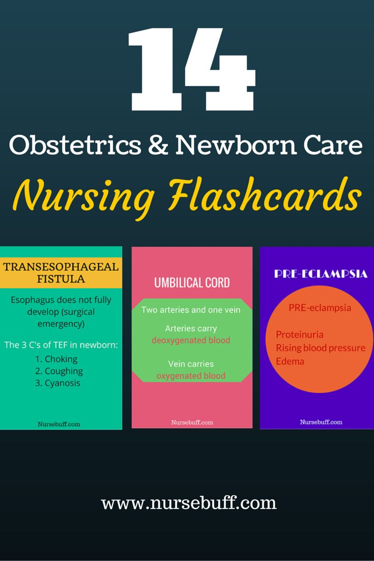 14 Obstetrics & Newborn Care Nursing Flashcards: http://www.nursebuff.com/obstetrics-newborn-care-nursing-mnemonics/