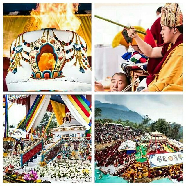 Kyabjey Yangtang Rinpoche's Kudung Mechod on 2/December/2016 in Sikkim. Om A Hung Benza Guru Pema Sidhi Hung 🙏🙏🙏🙏🌺🌻🌼🌷🌹💮🌸💐 #yangthangrinpoche #rinpoche #parinirvana #mahaparinirvana #ceramony #fireoffering #offering #feneral #palyul #zhogchenmaster # master #buddhism #peace #compassion #energy #tibetanmaster #khyentserinpoche #khyentseyangsi #shechen #nyingmapa