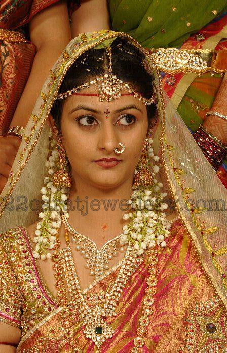 Real Bride in Diamond Jewellery | Jewellery Designs