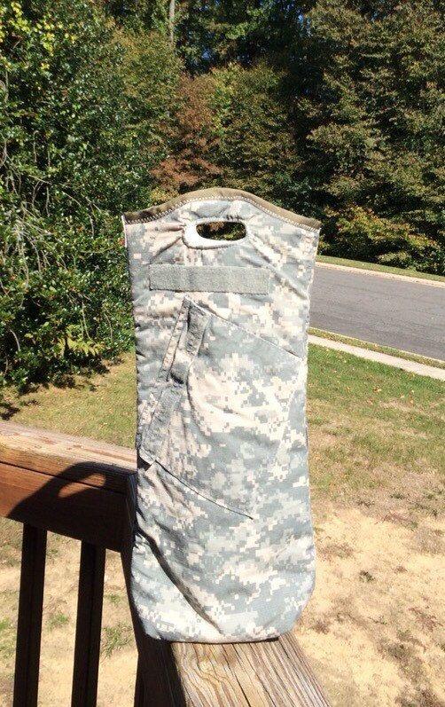 Insulated Utility Wine Tote US Army ACU uniform by 7zerozero
