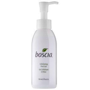 Exfoliating Peel Gel - boscia -- Get the benefits of a peel—without the harsh side effects. This peel gel acts as a physical peel to remove the outer layer of dead skin, as a chemical peel to penetrate deep into skin for in-depth exfoliation, and as a treatment to firm and brighten for a healthy complexion