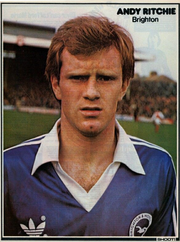 Andy Ritchie of Brighton and Hove Albion in 1982.
