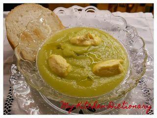 My-Kitchen-Dictionary: V come Vellutata di Zucchina Trombetta e Zabaione al Parmigiano