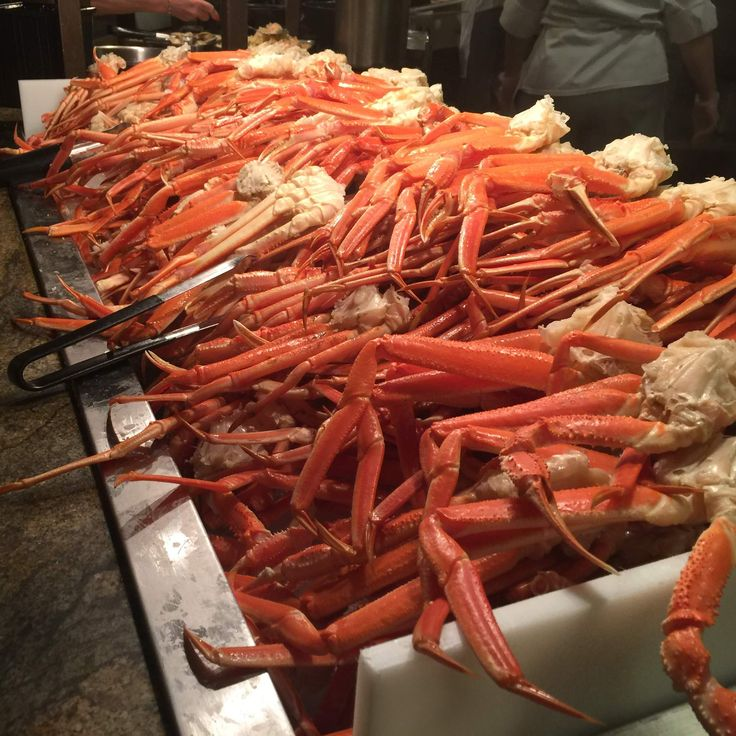 Fill Up on King Crab Legs at Las Vegas' Absolute Best Seafood Buffets