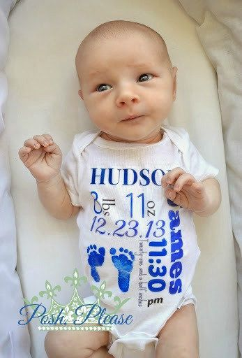 Hey, I found this really awesome Etsy listing at https://www.etsy.com/listing/201512036/keepsake-onesie-personalized-birth-stats
