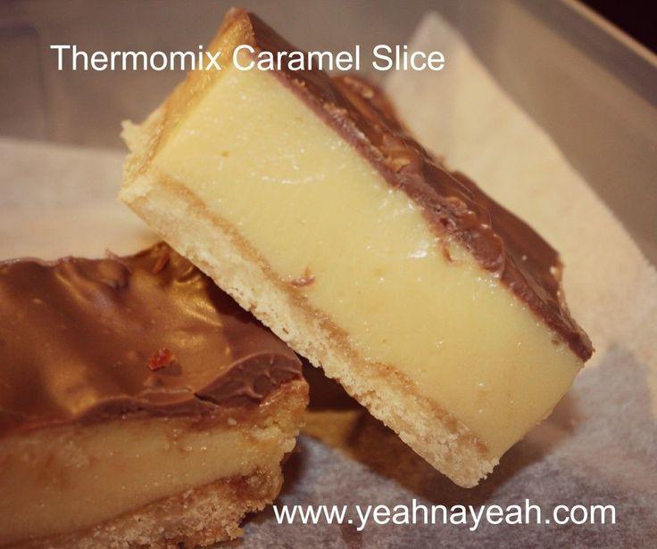 Thermomix Caramel Slice - YeahNaYeah.com
