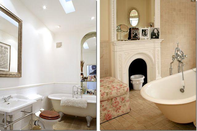 Shabby Chic Interiors: { Vasca da bagno & co }  ARREDAMENTO SHABBY ...