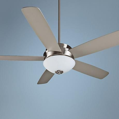 """52"""" Craftmade Layton Stainless Steel Ceiling Fan"""