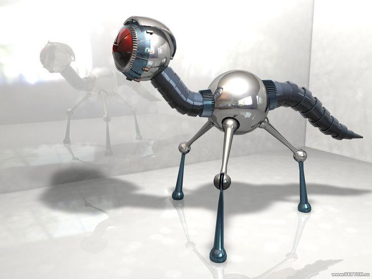 Robotar - gratis skrivbordsbilder: http://wallpapic.se/konst-och-kreativa/robotar/wallpaper-26670